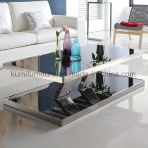 Modern Living Room Furniture Stainless Steel Tea Table