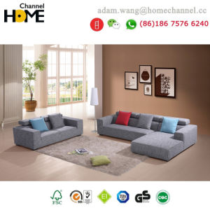 Best-Selling Home Furniture Living Room Fabric Sofa (HC-R577)