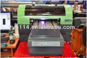 Multi-Color Printing UV Flatbed Printer pictures & photos