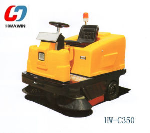 Electric Industrial Road Floor Cleaning Sweeper Machine for Sale pictures & photos