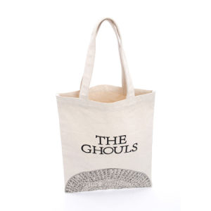 Canvas Women Shopping Bag Handbag pictures & photos