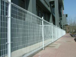 Welded Double Ringed Fence for Highway Protection pictures & photos