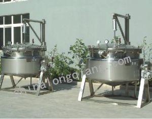 Pressured Jacketed Kettle pictures & photos