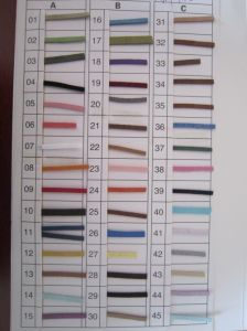 South Korea Velvet Color Chart pictures & photos