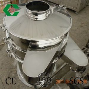 Vibrating Screener/Sieve for Foodstuff (tea, chilli, grains, medicine, etc) pictures & photos