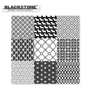 Decoration Tile Black and White Series Glazed Polished Tile (6600202) pictures & photos
