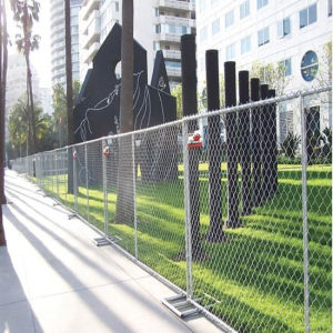 6ftx8FT Portable Temporary Chain Link Fencing, Temporary Chain Link Mesh pictures & photos