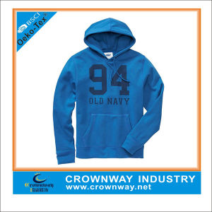 Wholesale Customized Frech Terry Hoodies with Peached Surface pictures & photos