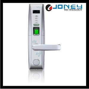 Security Electronic Fingerprint Door Lock Unlock by Card, Pin, Password or Key Unlock Way (JYF- L4000) pictures & photos