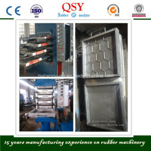 Rubber Floor Making Machine/Rubber Tiles Vulcanizing Press pictures & photos