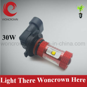 Woncrown High Power LED Fog Light 30W 12V 24V H11 6000k Replacement Bulbs for Car