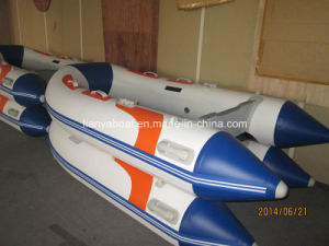 Liya China 4m 5m PVC Inflatable Boat Marine Engine Boats pictures & photos