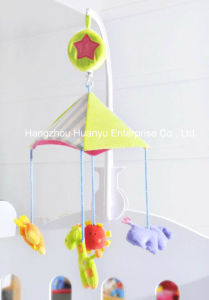 Baby Bed Musical Movement Hang Animal Toy pictures & photos