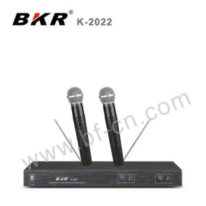 2 Channel VHF Wireless Microphone System pictures & photos