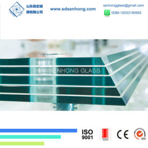 Clear Sgp Toughened Tinted Laminated Patterned Tempered Glass for Building pictures & photos