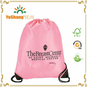 Cute Sackpack Polyester Drawstring Bag/Drawstring Backpack/Foldable Nylon Bag pictures & photos