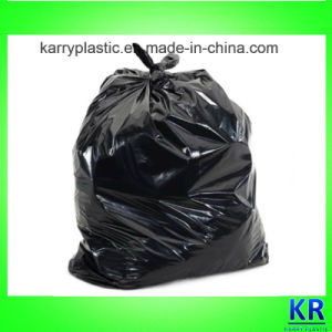 Big Size Black Garbage Bags pictures & photos