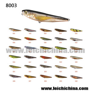 Popular Hard Fishing Lure Plastic Pencil Lure pictures & photos