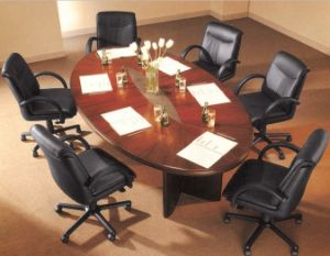China Person Seats Oval Shape Office Boardroom Meeting Table - Oval conference table for 8
