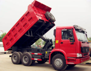 Sinotruk HOWO 6X4 Dump Truck with Mine Cargo Box (ZZ3257N3647) pictures & photos