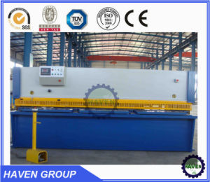Hydraulic guillotine shear, sheet metal cutting and bending machine pictures & photos