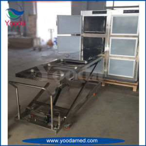 Stainless Steel Hydraulic Mortuary Body Lifter