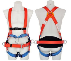 CE Approved Fall Protection Full Body Safety Harness pictures & photos