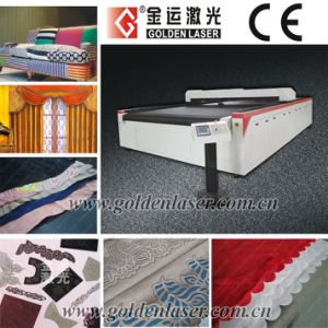 Automatic Laser Cutter Fabric for Curtain, Sofa, Home Textile/Laser Plotter Cutting Machine