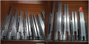 High Quality Cabinet Drawer Slides Undermount pictures & photos
