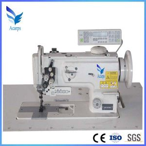 Double Needle Compound Feed Sewing Machine