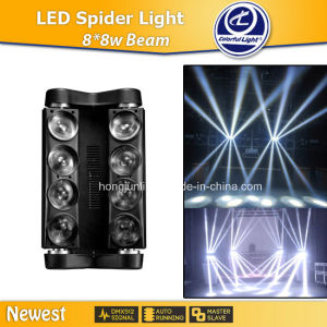 90W 8*8W Beam LED Stage Lighting Guangzhou Baiyun 2014 The Newest Product