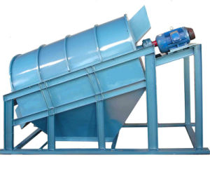 High Capacity Trommel Soil Screener