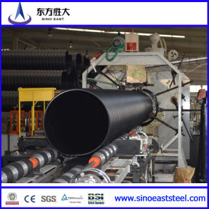 HDPE Double Wall Corrugated Drainage Pipe of Prestress pictures & photos