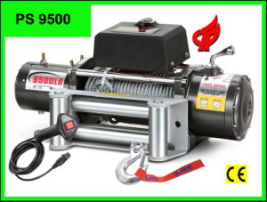 4X4 Winch PS9500 Power Winch with Wireless Remote Control 12V/24V pictures & photos
