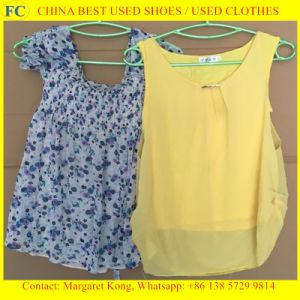 Used Clothing for Africa Market/Ladies Cotton Blouses