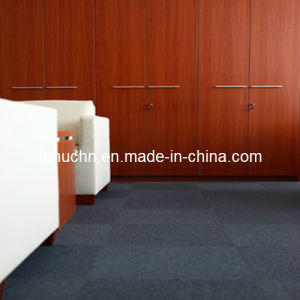Various Styles Needle Punched Polyester Plain Carpet Tiles