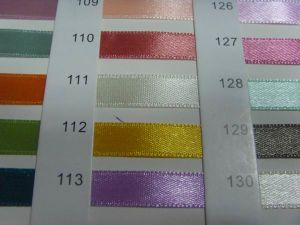 Factory Satin Ribbon Single Face pictures & photos
