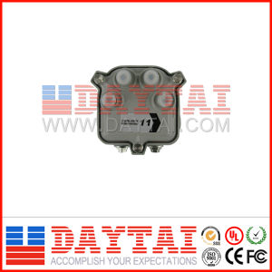 China Factory Price CATV Outdoor Sub-Trunk 4 Way Tap pictures & photos