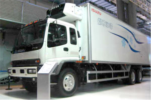 Isuzu Fvz Refrigerated Truck pictures & photos