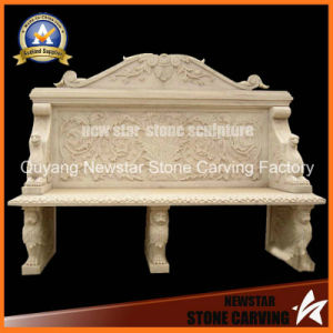Stone Sculpture Bench Outdoor Bench for Garden Decoration pictures & photos