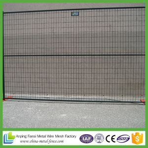 New Product Outdoor Used in Canada Welded Temporary Fence