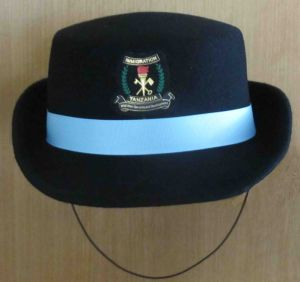 Police Cap Lady′s Cap Bowl Hat pictures & photos
