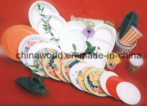 Varies Shape Paper Plate Forming Machine pictures & photos