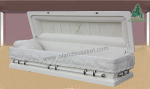 Solid Wood Casket (D-A-833)