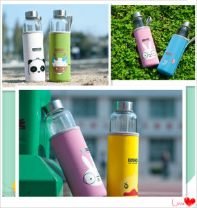 Borosilicate Glass Drinking Bottle for Sport Dn-165c pictures & photos