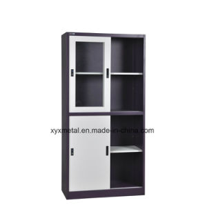 Top Quality up Sliding Glass Door Metal Cabinet pictures & photos