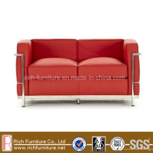 LC2 Modern Office Commercial Leather Sofa for Hotel (2 Seat) pictures & photos