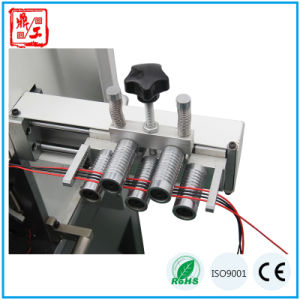 CNC Wire Cable Harness Cutting Stripping Twisting Tinning Machine pictures & photos