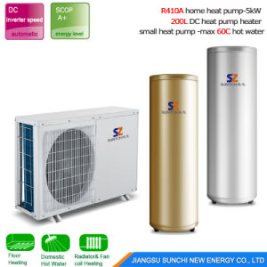 Russia/Finland Cold Winter House Heating 10kw/15kw/20kw by -15c Glycol Loop Evi Tech Geothermal Ground Source Heat Pump Prices pictures & photos