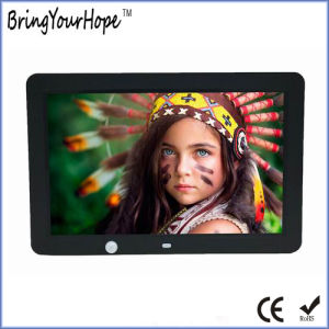 10 Inch Human Sensor Digital Photo Frame (XH-DPF-102I) pictures & photos